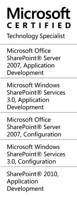 MCTS - SharePoint