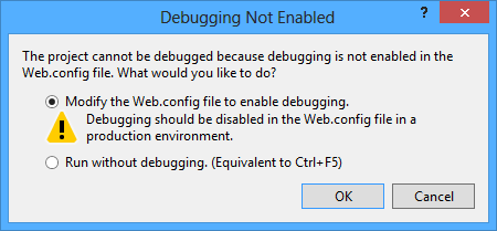 Enabling debugging